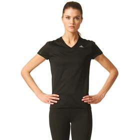 adidas Response - T-shirt course à pied Femme - noir